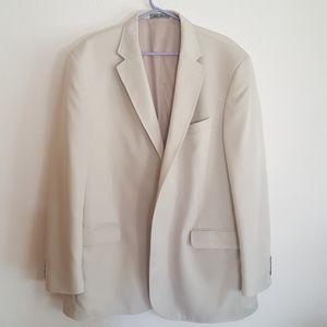 Travelsmith coat/jacket 48L, beige, men's